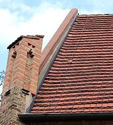 Dach Burgwall